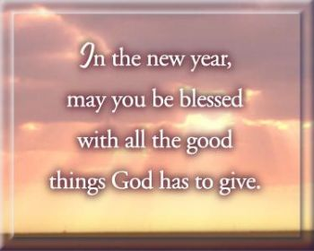 May God's Infinite Love and Delight and Fullness of Purpose Unfold to You and Yours Immeasurably This New Year